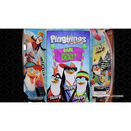 Pingüinos Locos.  Kit nuevo en mueble reacondicionado
